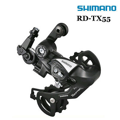 Shimano Tourney RD-TX55 Direct-Mount Rear Derailleur 6/7 Speed SGS Long Cage