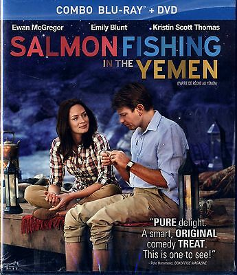 BRAND NEW BLU-RAY+ DVD // SALMON FISHING IN THE YEMEN // EWAN McGREGOR, EMILY BL