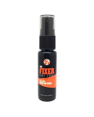 W7 The Fixer Long Lasting Make Up Fixing Face Spray 18ml