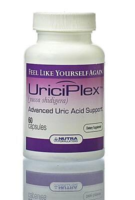 UriciPlex natural herbal gout remedy uric acid control X 60 capsules