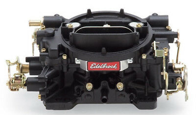 Edelbrock 14053 Performer Series Black Finish 600 CFM Manual Choke Carburettor