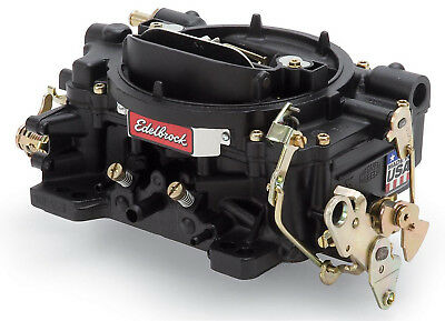 Edelbrock 14073 Performer Series Black Finish 750 CFM Manual Choke Carburettor