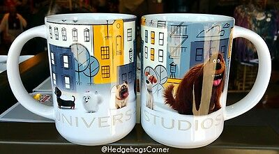 Universal Studios The Secret Life of Pets Ceramic Coffee Mug 24oz