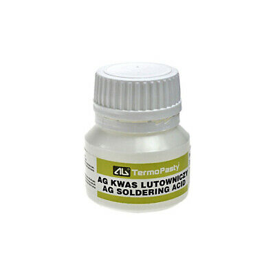 Soldering Acid 35ml - Soldering preparation for difficult to solder surfaces