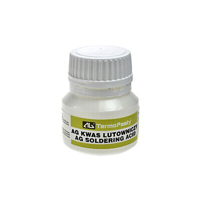 Soldering Acid 50ml - Soldering preparation for difficult to solder surfaces