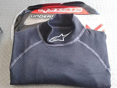 Alpinestars Race Underwear Fia 8856-2000 Rally Nomex Top Zx Shirt 475409 Xs - M