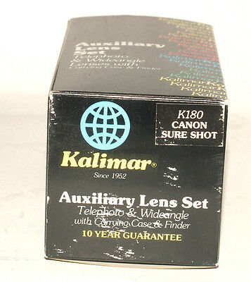 Kalimar auxiliary lens set for K180 Canon supreme