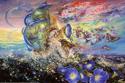Andromeda's Quest Poster Print by Josephine Wall, 36x24