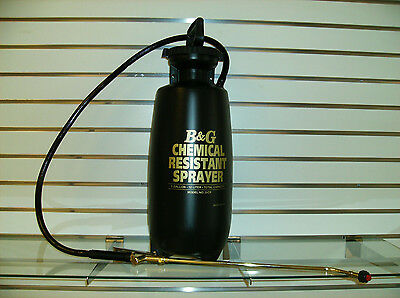 3 Gallon Chemical Resistant Pump Up Sprayer. Carpet and Tile Cleaning