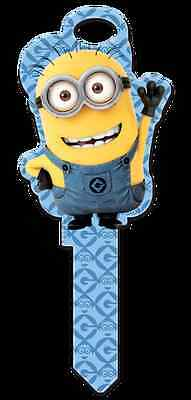 """DESPICABLE ME """" MINIONS SHAPE """" House Key Blank WEISER WR Reversible"""
