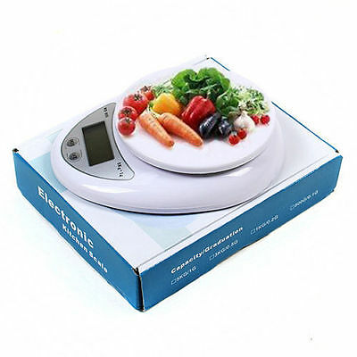 New Digital Kitchen Food Diet Postal Scale Electronic Weight Balance 5Kg x 1g