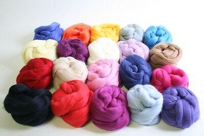 Multi-Pack Wool Top/Roving/Sliver 19.5 micron