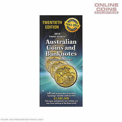 2013 20th Edition Pocket Guide to Australian Coins and Banknotes - Greg McDonald