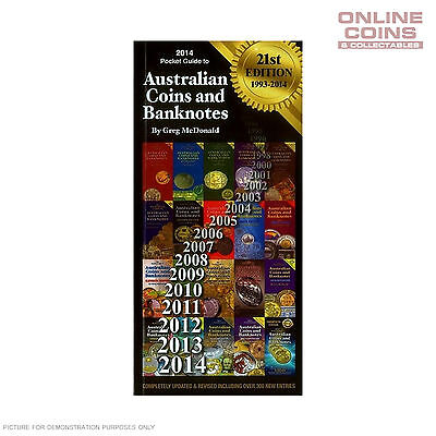 2014 21st Edition Pocket Guide to Australian Coins and Banknotes - Greg McDonald