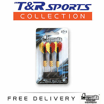 Formula Mini Darts Set - Pack of 3 Local Storage Dart Dartboard Accessory