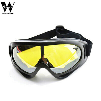 Windproof Motorcycle Cycling Bike Road Racing Sports Safety Glasses Googles