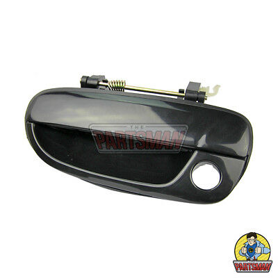LH Front Outer Door Handle Black Hyundai Accent 3/4/5Dr 6/00-4/06