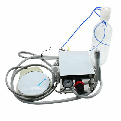 Portable Dental Turbine Unit Work With Compressor 4Hole High Speed Wrench