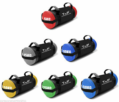 Powerbag Weighted Training Bag Handles Weight Lifting Crossfit Fitness PowerSand