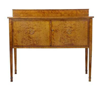 20Th Century Art Deco Birch Sideboard