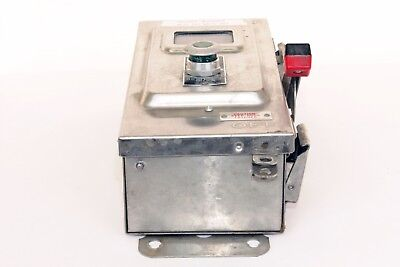 Square D CHU361  30 Amp, 600V, Stainless Steel, Non-Fusible Switch