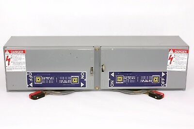 Square D QMB362TW  Twin Fusible Switch QMB, 60A/60A, 600V, Series E1