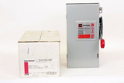Cutler Hammer 3HD361NF  30 Amp, 3 Poles, 600V, Type 3R, Non-Fusible Switch