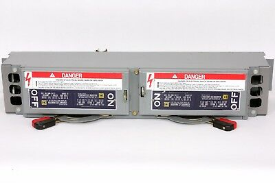 Square D QMB361T  Series D2, 30A/30A, 600V, QMB Twin Fusible Switch