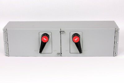 FPE QMQB3336  Twin Fusible Switch, 30A/30A, 600V, J Fuse