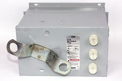 ITE PGR6314  30A, 480V, 3PH, BD Switch Plug, New Style