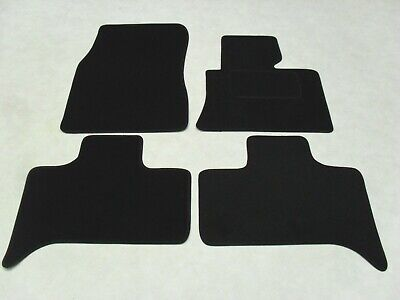 BMW X5 E53 1999-06 Fully Tailored Deluxe Car Mats in Black.