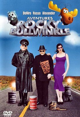 BRAND NEW DVD // The Adventures of Rocky and Bullwinkle // Robert De Niro