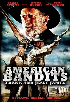 NEW DVD  // American Bandits:Frank and Jesse James // Jeffrey Combs, Peter Fonda