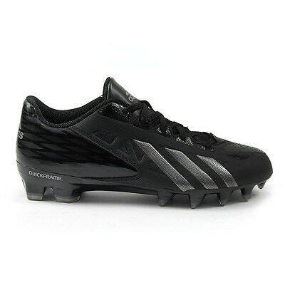 Adidas Filthy Quick FilthyQuick Low Black/Titanium Football Cleats G65935 NEW!