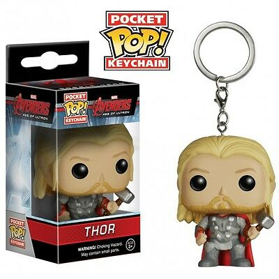 Figurine Marvel - Avengers Age of Ultron Thor Porte Clé Pocket Pop 4cm