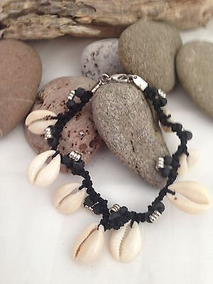 Stunning 8 Piece Sigay Shell  Anklet