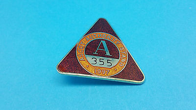 Ascot Horse Racing Authority Stand Badge - 1997