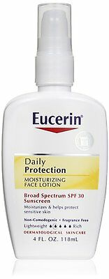 Eucerin Daily Protection Moisturizing Face Lotion SPF 30 120 ml