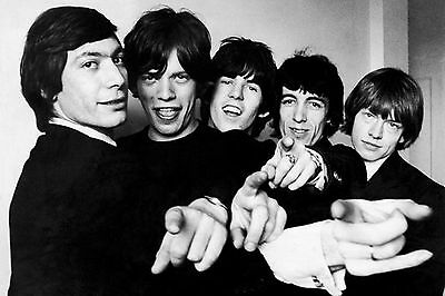 Rolling Stones 8X10 Music Band Photo Poster Art Picture Decor Print 013