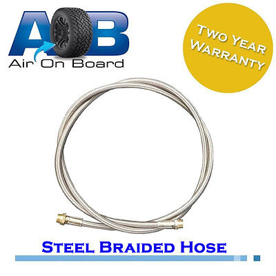 Air hose 201 stainless steel braided airline air compressor tank heat proof 75cm