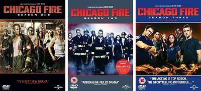 Chicago Fire Series 1-3 Season 1 2 3 DVD Box Set Complete Collection  NEW REG 2