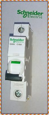 NEW Schneider Electric MCB IC60N 63A C 1P Acti9 Miniature Circuit Breaker