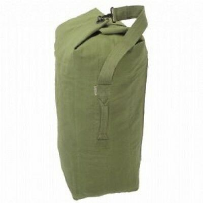 Olive Kit bag ~ Military Army Style Large Size Heavy Duty Cotton Canvas ~ New