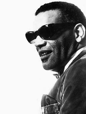 Ray Charles Vocalist Pianist Songwriter 10x8 Glossy Music Photo Print Picture