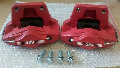 MGTF MGF TWO POT AP CALIPERS & PADS & BOLTS  New Genuine    (GT MG SPARES LTD)