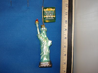 Statue Of Liberty Ornament Noble Gems Glass NG04535 123