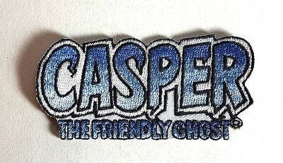 "Casper Friendly Ghost Logo 3.25"" Embroidered Patch- FREE S&H (CGPA-01)"