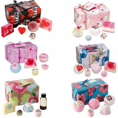 Bomb Cosmetics Valentines Romantic Handmade Wrapped Gift Pack Soap Bath Blaster