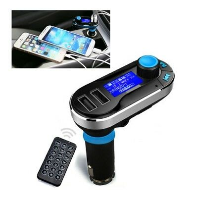NUOVO Bluetooth Tacking Handsfree Car Kit FM Transmitter with Remote Control, 2