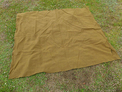 #1/ Original US ARMY Wool Blanket OD Wolldecke Decke WW2 Korea Vietnam
